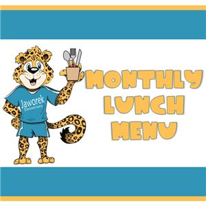Monthly Lunch Menu Logo