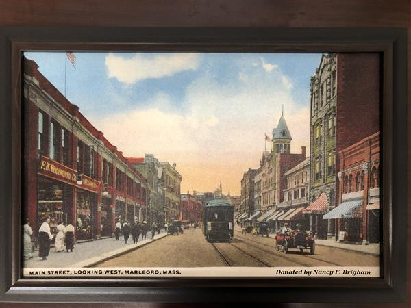Nancy Brigham donated this beautiful picture of downtown Marlborough!