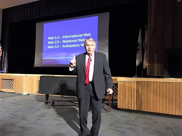 Daggett Inspires MPS Staff