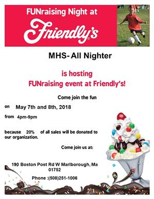 Friendly's Fundraiser