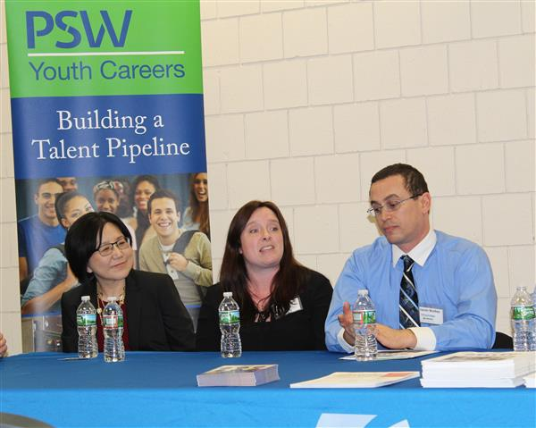 Panelists for Career & Work Experience Forum
