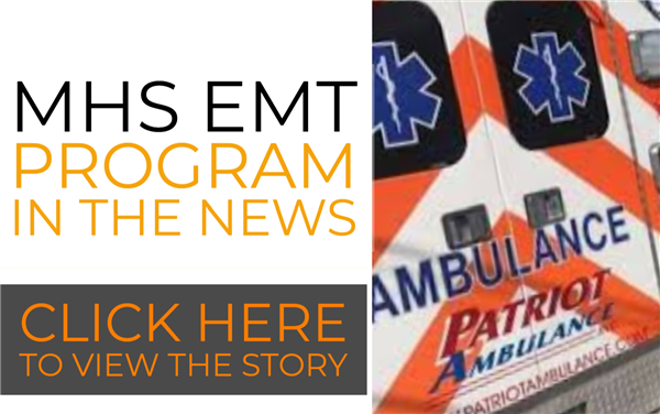 MHS EMT Program on WMCT-TV