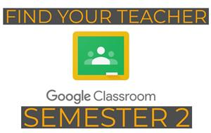 Click Here to find your Google Classroom