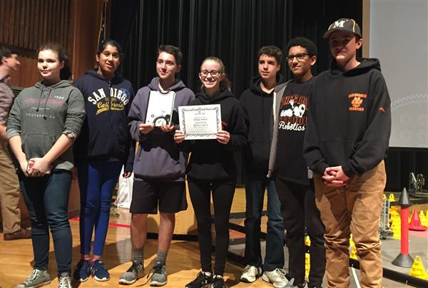 Robotics Team 4344A wins Judges Award