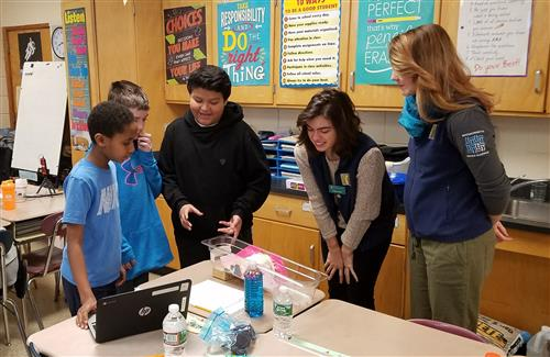 Fifth Grade Students Design Pollution Solution