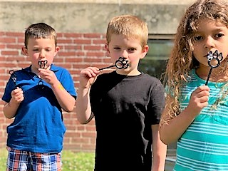 Whitcomb Students Use 3D Printing to Produce Bubble Wands
