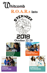 Whitcomb STEM Week Poster